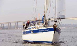 shearwater sailing school rig